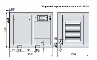 Компрессор COMARO MYTHOS MD 75-08